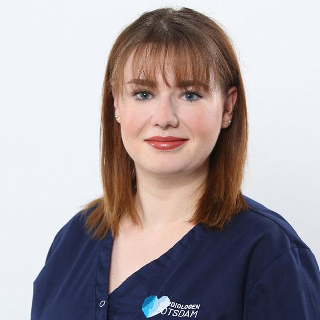 Kardiologen Potsdam Team Schwester Justine